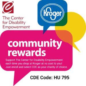 Kroger community rewards CDE Code: HU 795