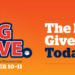 The Big Give, October 10-11